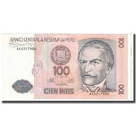 Billet, Pérou, 100 Intis, 1987, 1987-06-26, KM:133, TTB - Pérou
