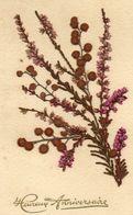 - Belle FANTAISIE  - Fleurs Séchées Collées   -19096- - A Systèmes