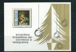 91697) Brasile 1969 Natale Souvenir Foglio (Scott 1147) VF-MNH** - Blocs-feuillets