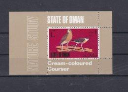 Oman Birds Souvenir Sheet MNH/** (H45) - Birds