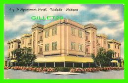 HABANA, CUBA - 8 Y 19 APARTMENT HOTEL, VEDADO - - Cuba