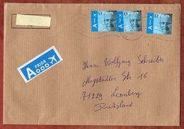 Grossbrief, MeF Koenig Philippe Sk, Antwerpen Nach Leonberg 2019 (71031) - Briefe U. Dokumente