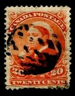 """1893 Canada """"Ottawa Print"""" - 1851-1902 Règne De Victoria"""