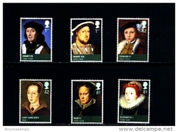 GREAT BRITAIN - 2009  HOUSE OF TUDOR  SET  MINT NH - 1952-.... (Elizabeth II)