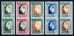 África Del Sur (Británica) Nº 78/87 (unidos) Nuevo - Afrique Du Sud (...-1961)
