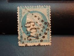 TIMBRE Cérès 40 C Oblitéré Numéroé 259 - 1870 Siège De Paris