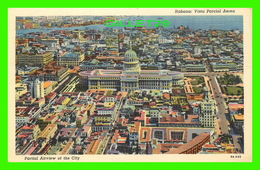 HABANA, CUBA - VISTA PARCIAL AEREA - PARTIAL AIRVIEW OF THE CITY - C. JORDI - - Cuba