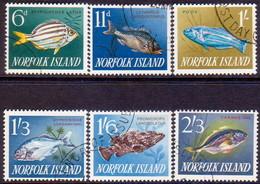 Norfolk Island 1962-63 SG 43-48 Compl.set Used Fish - Norfolk Island