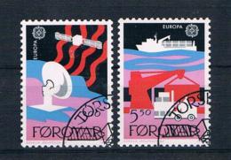 Färöer 1988 Europa/Cept Mi.Nr. 166/67 Kpl. Satz Gestempelt - Färöer Inseln