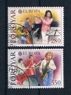 Färöer 1985 Europa/Cept Mi.Nr. 116/17 Kpl. Satz Gestempelt - Färöer Inseln