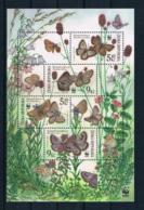 Tschechische Republik 2002 Schmetterlinge Block 17 ** - Tschechische Republik