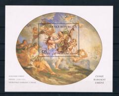 Tschechische Republik 2001 Gemälde Block 15 ** - Tchéquie