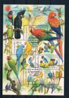 Tschechische Republik 2004 Vögel Block 20 Gest. - Tschechische Republik