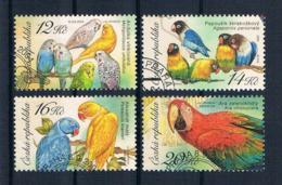 Tschechische Republik 2004 Vögel Mi.Nr. 406/09 Gest. - Tchéquie