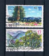 Tschechische Republik 1999 Europa/Cept Mi.Nr. 215/16 Gest. - Tschechische Republik