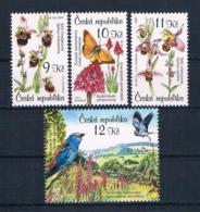 Tschechische Republik 2007 Schmetterlinge Mi.Nr. 525/28 ** - Tschechische Republik