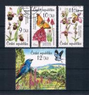 Tschechische Republik 2007 Schmetterlinge Mi.Nr. 525/28 Gest. - Tchéquie