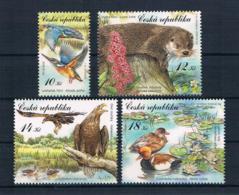 Tschechische Republik 2008 Tiere Mi.Nr. 562/65 ** - Tchéquie