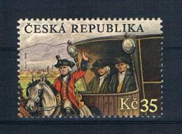 Tschechische Republik 2008 Pferdekutsche Mi.Nr. 573 ** - Tschechische Republik