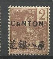 CANTON N° 34  NEUF**  SANS CHARNIERE / MNH - Oblitérés
