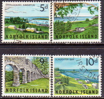 Norfolk Island 1964 SG 51-54 Compl.set Used Views - Norfolk Island