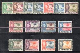 CI1175A - GAMBIA 1938 , Serie Yvert N. 122/136 Priva Dei Soli N. 124 E 126  ***  MNH  (2380A) - Gambie (...-1964)