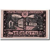Billet, Autriche, Zehetgrub, 30 Heller, Maison, 1920, 1920-10-30, SPL - Autriche