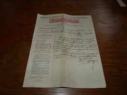 Document  Commercial Facture Fabrique De Produits Chimiques René Dubois Fontaine L'Evêque 1906 - België