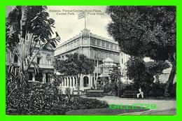 HABANA, CUBA - PARQUE CENTRAL, HOTEL PLAZA - ANIMATED  - EDICION JORDI - - Cuba