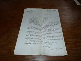 Document  Commercial Facture Fabrique De Chocolat Dupureux Rassart 1904 - Belgique