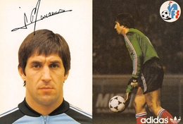 Football - Adidas - Jean-Paul BERTRAND-DEMANES  Joueur International Né Au Maroc à Casablanca - Gardien De But - Goal - Football
