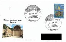SPAIN. POSTMARK. RUINS SANTA MARIA CHURCH. CAZORLA. 2019 - Marcofilia - EMA ( Maquina De Huellas A Franquear)