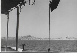 VISTA SULLA COSTA -  FORMATO 14,50X10,50 - ORIGINALE D'EPOCA FINE ANNI '40 - Barche