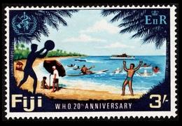 1968 Fiji $3.00 Shillings - Fidji (...-1970)