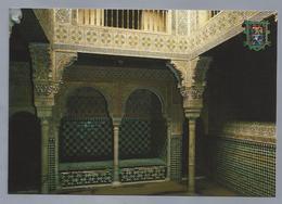 ES.- GRANADA. Alhambra. Sala De Las Camas O Del Reposo. Ongelopen. - Granada