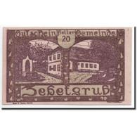 Billet, Autriche, Zehetgrub, 20 Heller, Maison, 1920, 1920-10-30, SPL - Autriche