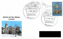 SPAIN. POSTMARK. SAN MATEO CHURCH. LUCENA. 2019 - Marcofilia - EMA ( Maquina De Huellas A Franquear)
