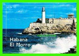 HABANA VIEJA, CUBA - CASTILLO DE LOS TRES REYES DEL MORRO  - EDICIONES GIANNI COSTANTINO - - Cuba