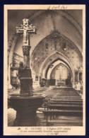 CLUSES Haute SAVOIE, L'église Et Son Remarquable Bénitier Monumental, Carte Neuv Annotée Au Recto - Cluses