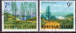 Norfolk Island 1966 SG 72-73 Compl.set Used - Norfolk Island
