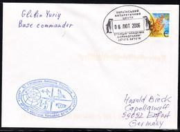 ANTARCTIC,UKRAINE,XI Expedition 2006, Cachet + Signature, Look Scan !! 21.3-43 - Timbres