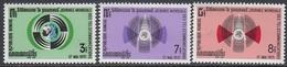 Cambodia 1971 - World Telecommunications Day - Mi 298, 300-301 ** MNH - Cambodge