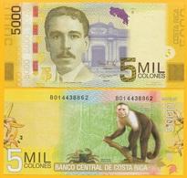 Costa Rica 5000 Colones P-276b 2012 (Serie B) UNC Banknote - Costa Rica