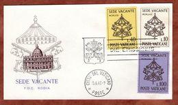 Vorderseite, FDC, Sede Vacante, 1963 (71041) - FDC