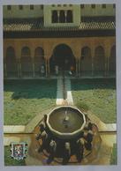 ES.- GRANADA. Alhambra. Patio De Los Leones. Cour Des Lions. Ongelopen. - Granada