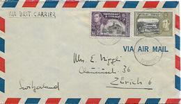 TRINIDAD & TOBAGO Cover Posted 2 Stamps King George VI COVER USED - Trinité & Tobago (...-1961)