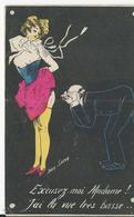 Illustrateur  Sager   Excusez Moi Madame - Sager, Xavier