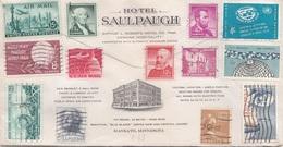 USA EXPRESS 196? - 25 Fach Frankierung Auf Brief MANKATO MINN. HOTEL SAULPAUGH - Luftpost