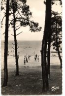 CPA (Réf : Q 762) 19. CLAOUEY (33 GIRONDE) Bassin D'Arcachon La Plage Des Enfants - Frankreich