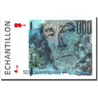 France, 50 Francs, échantillon, SPL - Fouten